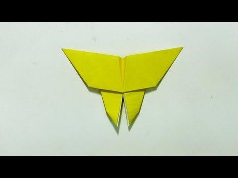 Thủ công lớp 3   Hướng dẫn cách gấp con bướm bằng giấy, kỹ thuật gấp hình   PA channel