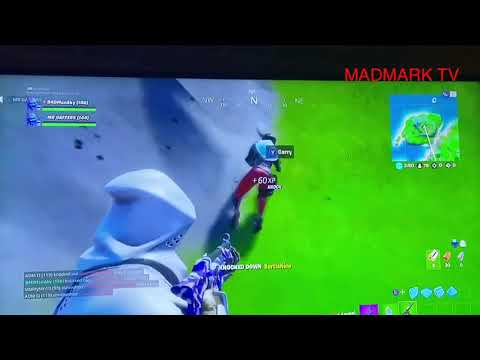 Funny throwing  players off Cliffs on Fortnite