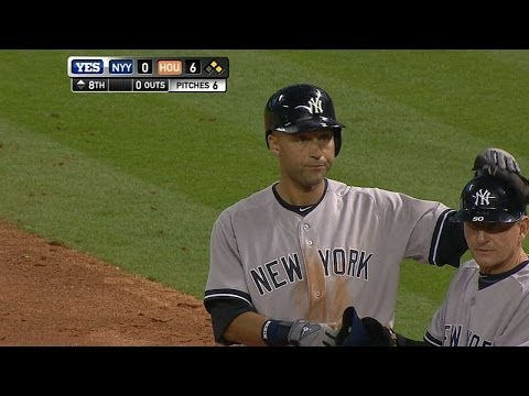 Jeter has eventful final Opening Day