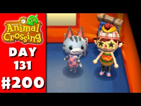 Animal Crossing: New Leaf - Part 200 - Meeting Lolly (Nintendo 3DS Gameplay Walkthrough Day 131)