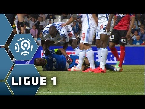 La terrible blessure de Mandanda - OM-EAG (1-0) - Ligue 1 - 2013/2014