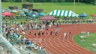 2011 NY State High School Track & Field Championships 100