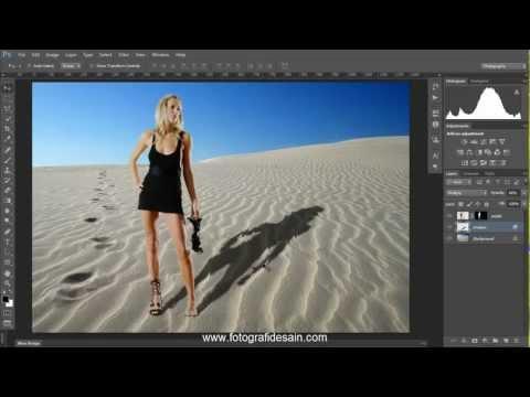 Cara Cepat Membuat Efek Bayangan Dengan Photoshop