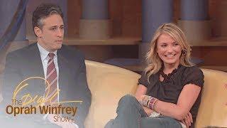 "Why Cameron Diaz Felt ""Intimidated"" by Jon Stewart | The Oprah Winfrey Show | Oprah Winfrey Network"