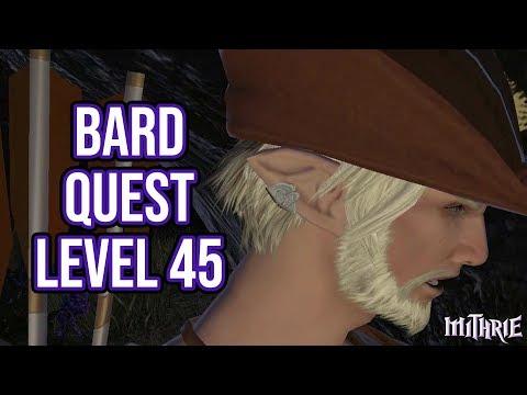 Let's Play - FFXIV ARR - 41 - Job Quest - Bard Level 45 + AF