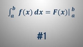 Newton-Leibnizova formula – primer 1
