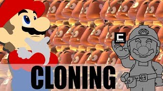 What Happens if Mario Jumps on 2064 Goombas at Once? (Super Mario Maker)