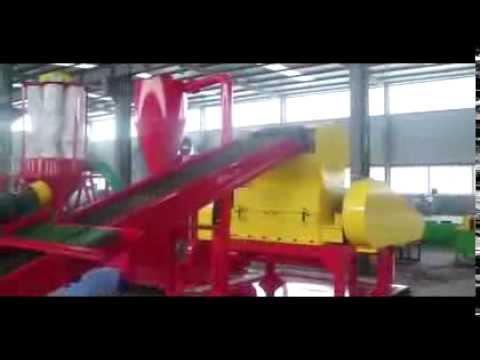 Maquinas para reciclaje de cables de cobre