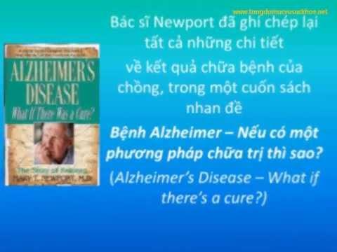 Dầu Dừa chữa bệnh Alzheimer (bệnh suy giảm trí nhớ sớm)