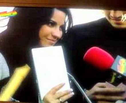 Entrevista a RBD en los angeles de 40 Parte 4
