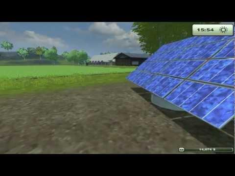 jugando farming simulator 2013 parte 13 (los invernaderos y los paneles solares)