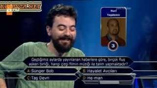 Kim milyoner olmak ister 195. bölüm Mehmet Cömert Türümen 22.03.2013