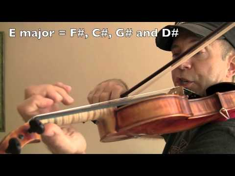 Slow Second Position Cassandra Exercises for Violin by Fiddlerman