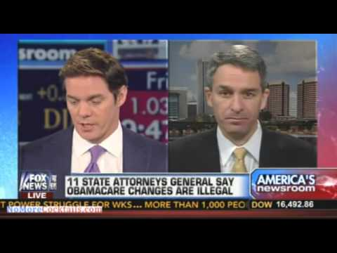 Ken Cuccinelli: Obama's disregard for the law will injure someone who will have standing to sue