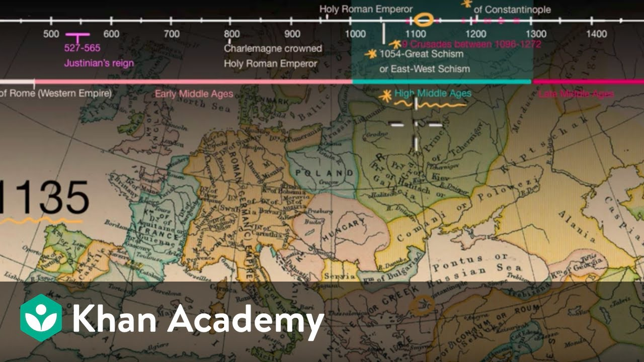 Overview of the Middle Ages (video) | Khan Academy