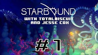 Starbound Beta - Episode 1 - Jesse is bad at interstellar travel