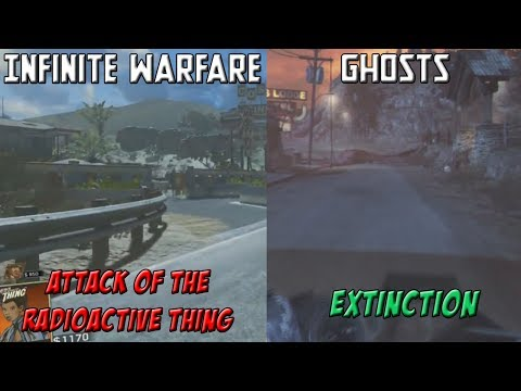 Infinity Ward COPIED & PASTED the Original EXTINCTION Map from GHOSTS into the NEW DLC 3 Zombies Map