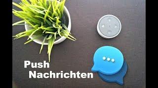 Amazon Echo: Push Nachrichten mit Alexa Verschicken (KOSTENLOS)