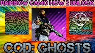 "COD: Ghosts ""How To Unlock Spectrum/Rainbow Camo"" Face Cam"