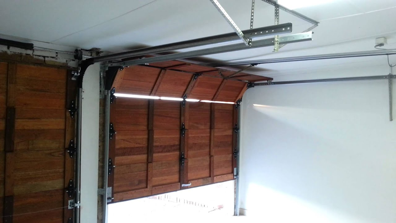 Wooden doors wooden doors garage - Making a steel door look like wood ...