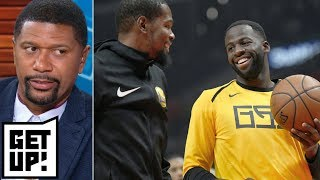 Jalen to Draymond: 'You have to give the ball to Kevin Durant' | Get Up!
