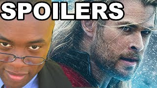 THOR The Dark World SPOILERS REVIEW : Black Nerd