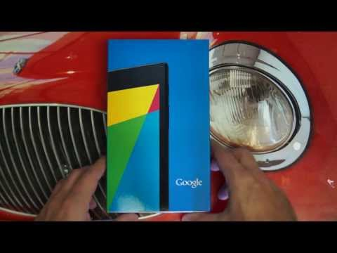 Google Nexus 7 2nd Generation Unboxing