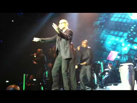 George Michael - Amazing / I'm Your Man / Freedom 90 Rotterdam 22-10-2011 live Symphonica first row