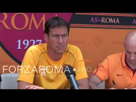 "Rudi Garcia: ""Benatia resta a Roma"" - Boston, Tufts University"