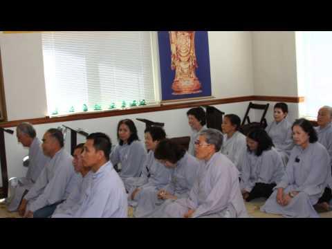 HD Video Đạo Tràng Phổ Hiền Một Ngày Tu Niệm Phật với thầy Nhuận Nghi.