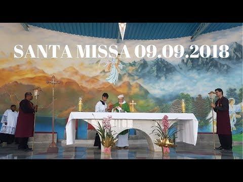 Santa Missa | 09.09.2018 | Padre José Sometti | ANSPAZ