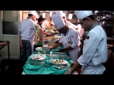 HOT and COLD FOOD display@Culinary Academy of India