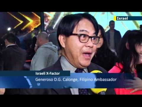 Filipino caregiver Rose Fostanes wins Israel's X-Factor: Asian singer compared to UK's Susan Boyle