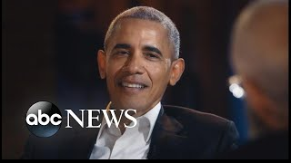 Obama's first talk show appearance since leaving office