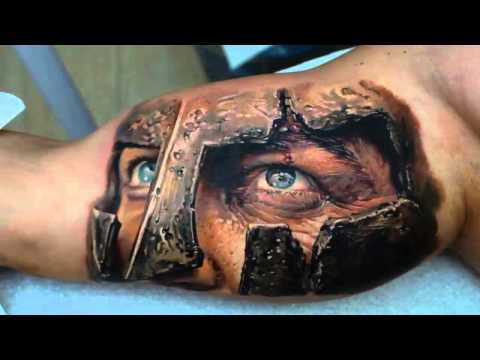 Best 3D tattoos in the world 2013 HD [ Part 1 ], Best 3D tattoos in the world