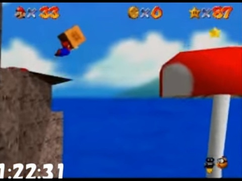 Super Mario 64 (N64) 120 star Speed run 1:49:49, player :NitoushinElmo / platform : Nintendo64