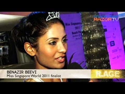 Bikini babes talk back (Miss World S'pore Beach Party Pt 2)