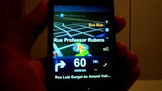 Samsung Galaxy Fit S5670 Teste Do GPS (Sem Internet) No