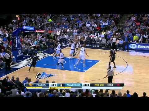 Indiana Pacers vs Dallas Mavericks | March 9, 2014 | NBA 2013-14 Season