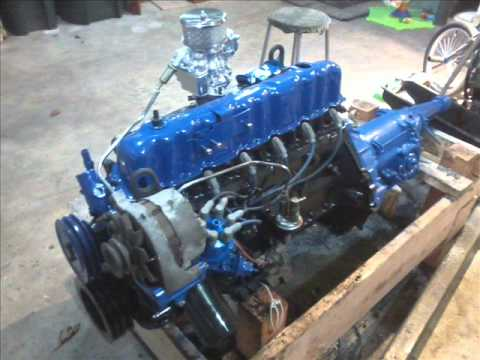 1976 Ford 250ci Inline 6 Youtube