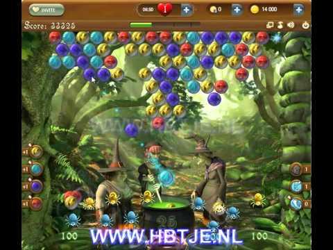 Bubble Witch Saga level 28
