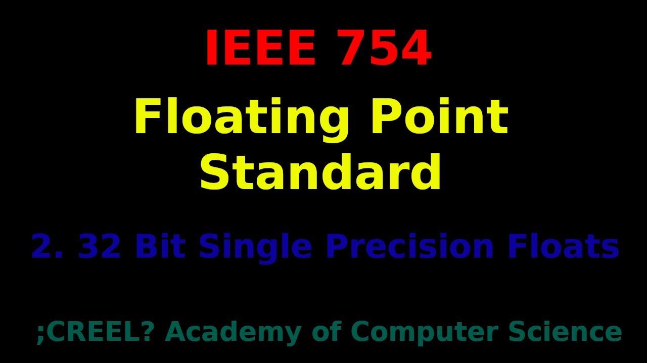 ieee 754 single precision converter