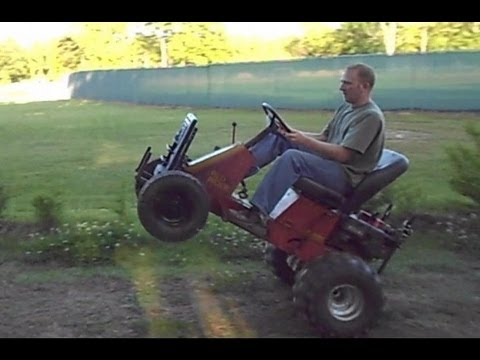 3rd Gear Wheelie - Off Road Yazoo Lawn Mower