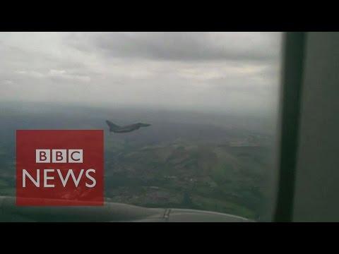 Escort to Passenger Plane