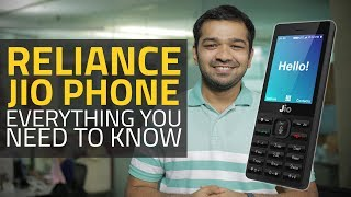 Watch: Reliance Jio Phone, Price, Specifications, Features..