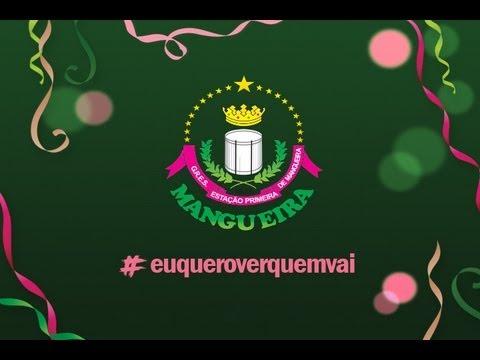 Mangueira 2014: EU QUERO VER QUEM VAI - Samba Concorrente Parceria de Lequinho