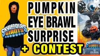 Pumpkin Eye Brawl Surprise + Contest (Skylanders Giant