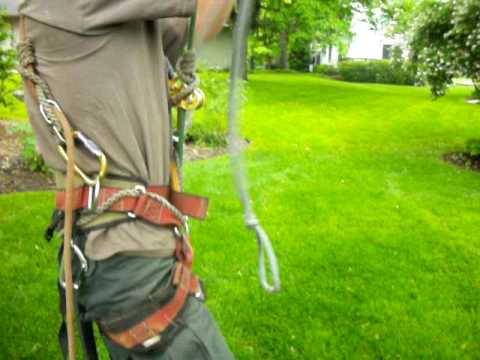 rope walking with a footlock strap