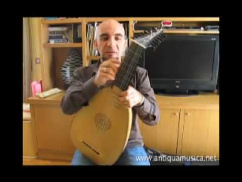 Lute Tutorial n. 1 - Lute Vs. Guitar