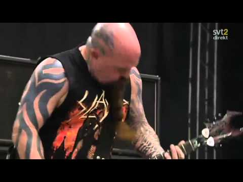 The Big 4 - Slayer - War Ensemble Live Sweden July 3 2011 HD